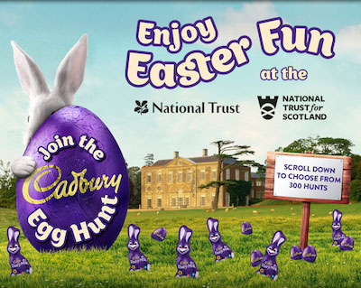 Ways To Laze Cadbury Easter Hunt